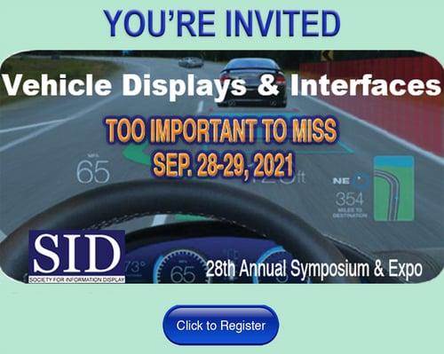 vehicle interface event invite