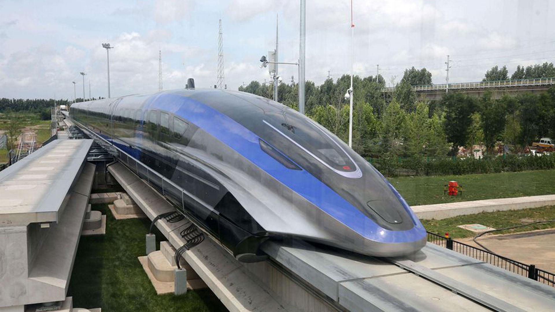 全球最快时速600公里磁悬浮列车采用全球最透明触控显示屏LUMINEQ