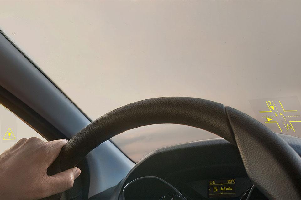 透明车辆显示屏设计的五大准则