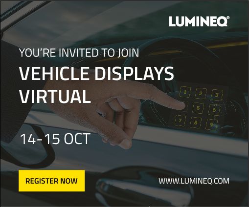 SID Vehicles Displays & Interfaces, Virtual Event, October 14-15, 2020