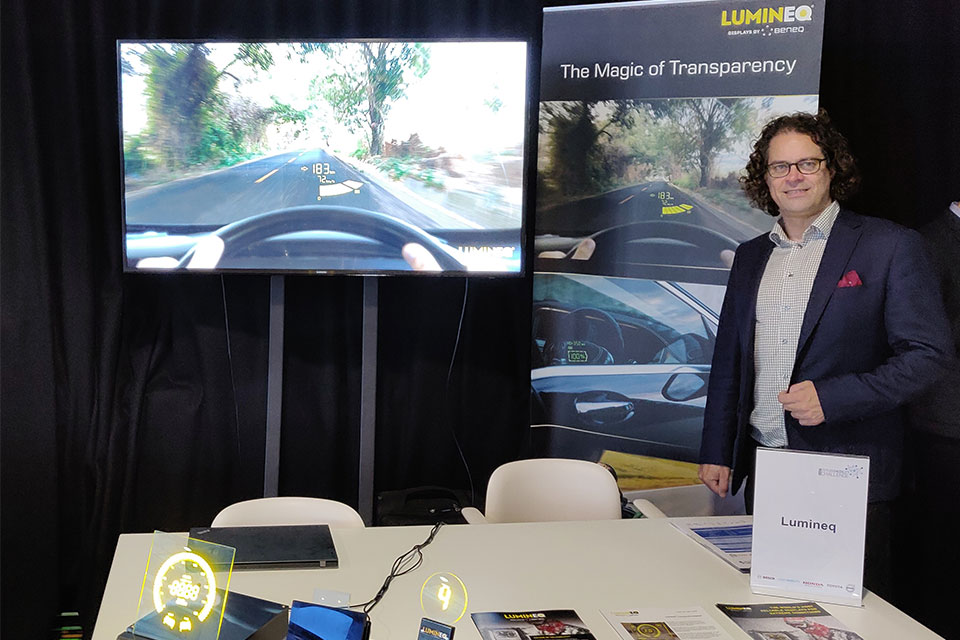 LUMINEQ selected to the SMMT Future Mobility Challenge